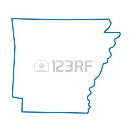 297 Arkansas Outline Stock Vector Illustration And Royalty Free.