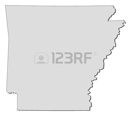 Arkansas State Map Vector. Vector. Get Free Images About World Maps.