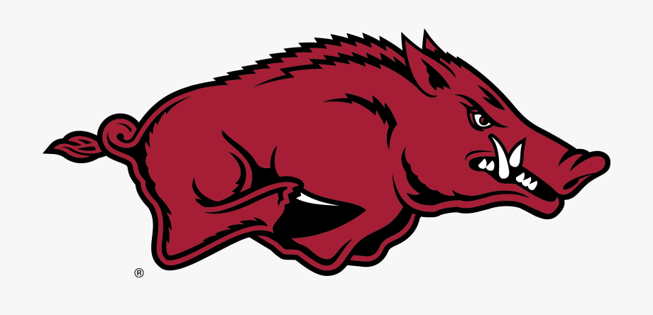 Arkansas Razorbacks Logo , Transparent Cartoon, Free.