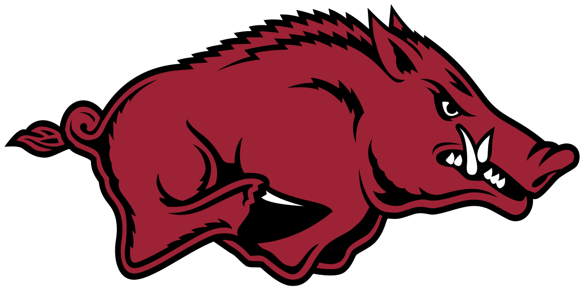 Collection of Razorback clipart.