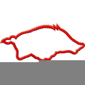 Arkansas Razorback Clipart.