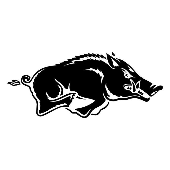 Arkansas Razorbacks Football Logo graphics design SVG DXF EPS Png Cdr Pdf  Ai Vector Art Clipart Digital Instant Cut Print File Shirt Decal.