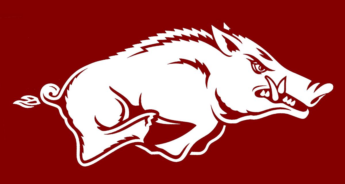 Arkansas Razorback Logo Hog Database clipart free image.