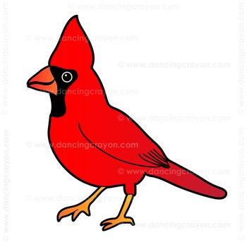 US State Birds Clip Art.