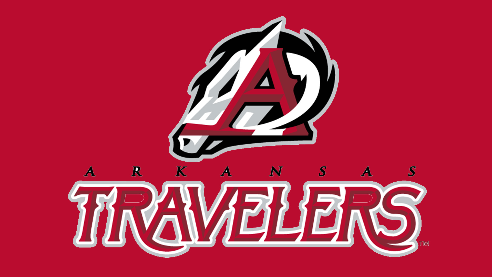 Meaning Arkansas Travelers logo and symbol.