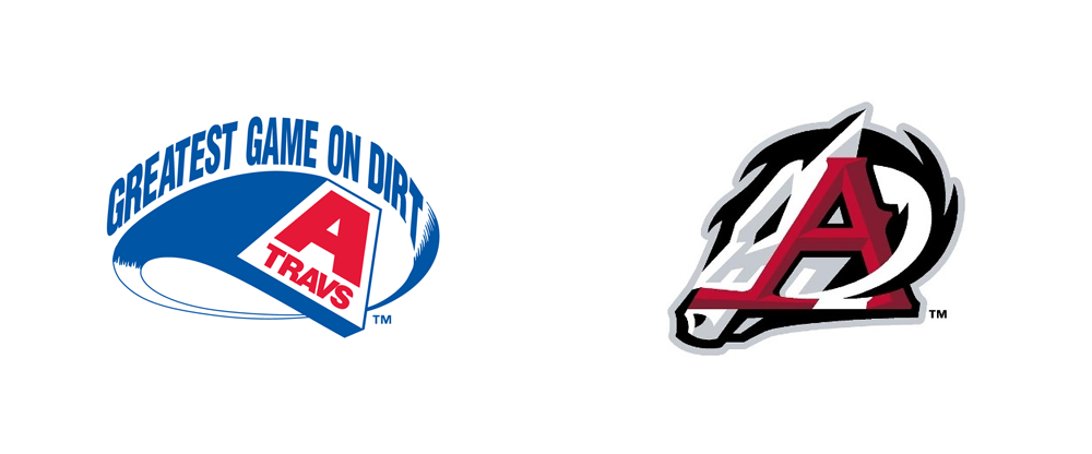 Brand New: New Logo for Arkansas Travelers by Brandiose.