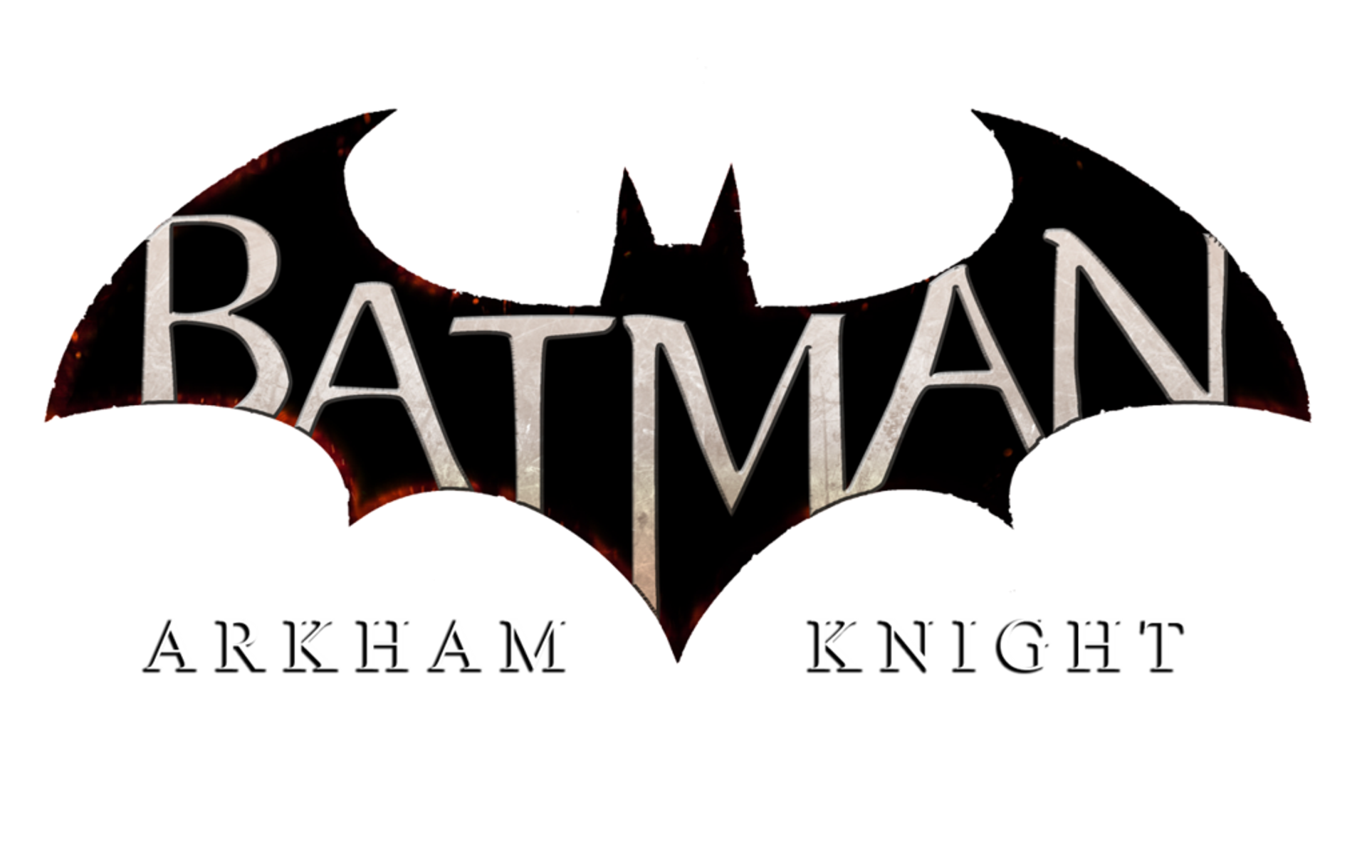 Batman Arkham Knight Logo Wallpaper.