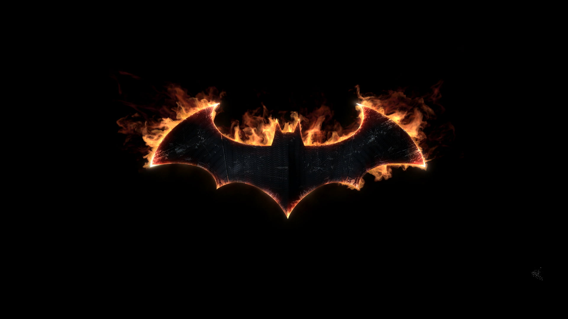 Batman logo, Batman: Arkham Knight HD wallpaper.