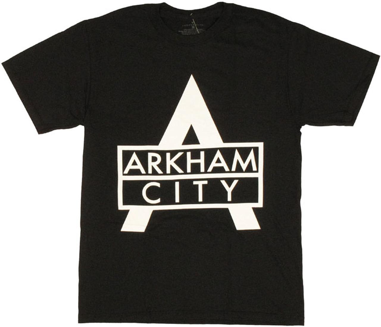 Batman Arkham City Logo T Shirt.