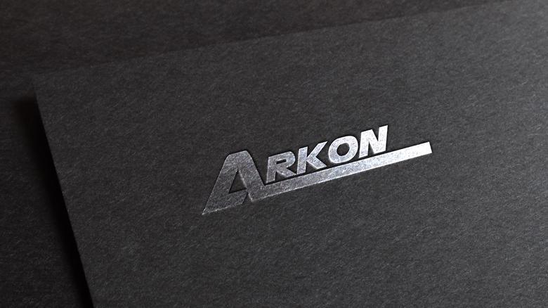 Arkon Logo Design.