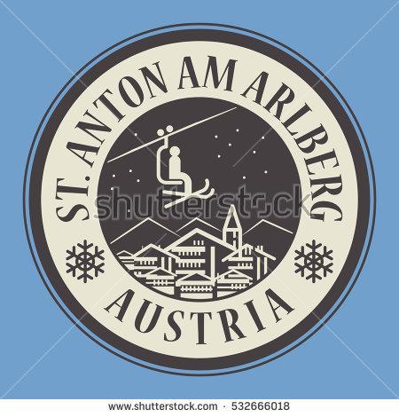 St Anton Austria Stock Photos, Royalty.