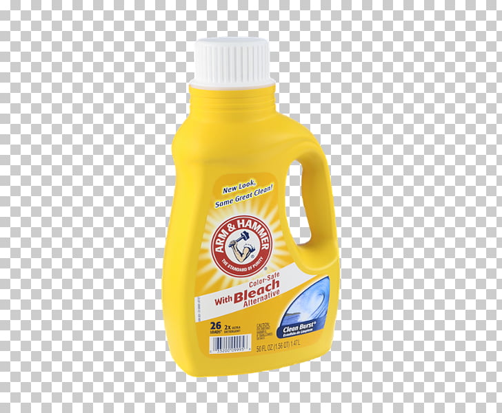 Laundry Detergent Arm & Hammer Fabric softener, bleach PNG.