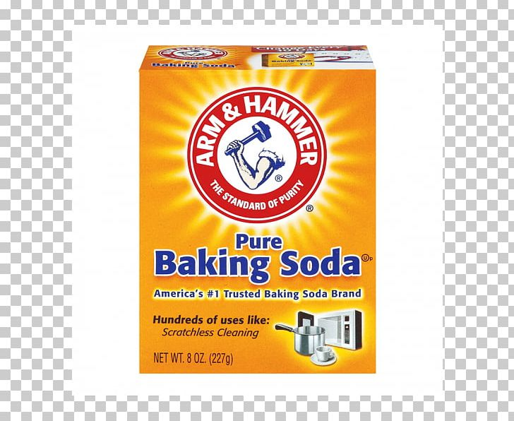 Arm & Hammer Sodium Bicarbonate Pancake Baking Powder PNG.