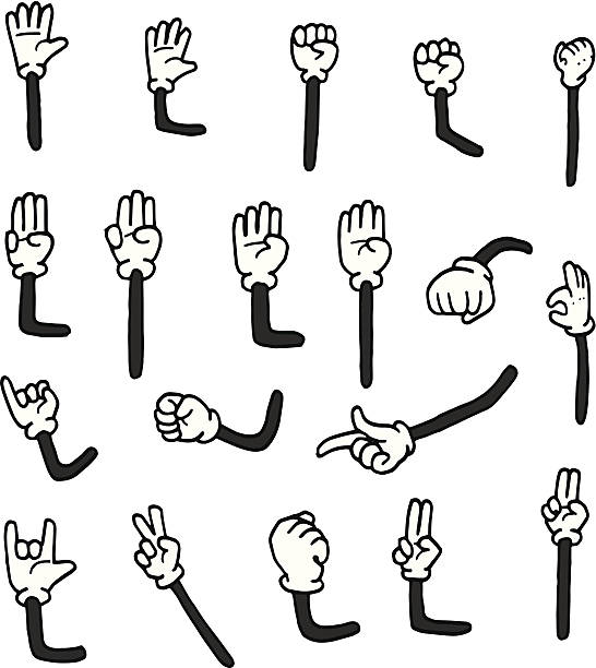Cartoon Arm Clipart.