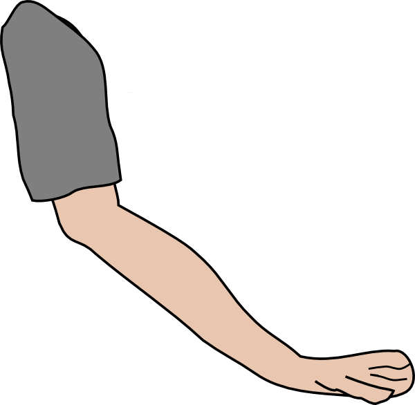 Left Arm Clipart.