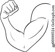 Biceps Clip Art.