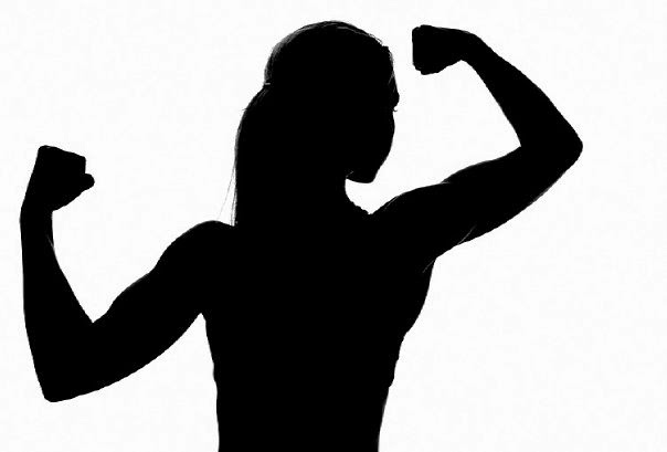 Free Girl Flexing Cliparts, Download Free Clip Art, Free.