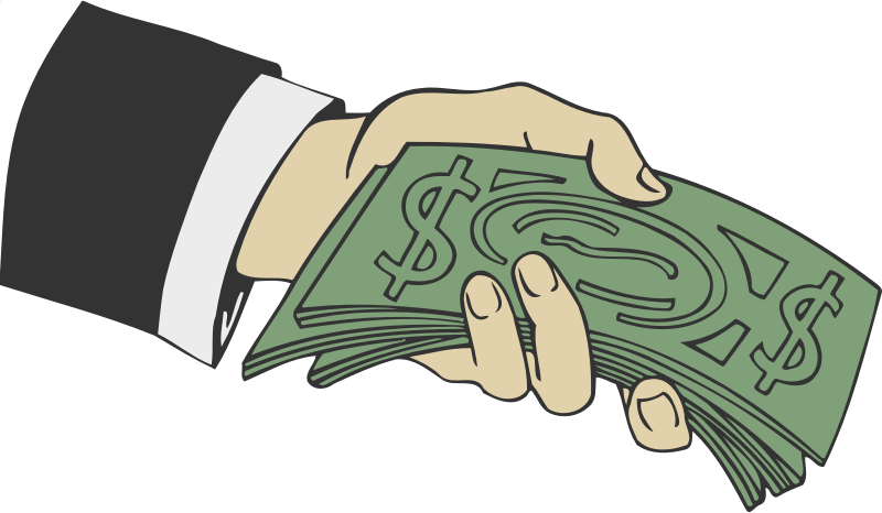 Clipart hand money, Clipart hand money Transparent FREE for.