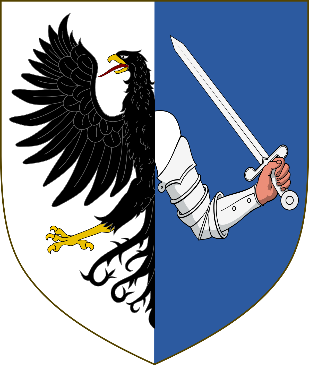 Coat of arms of Connacht.