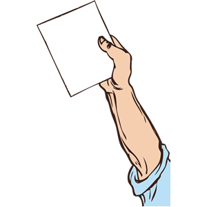 hand holding paper clipart, cliparts of hand holding paper.