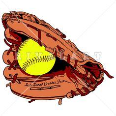 23 Best Softball Clip Art images.