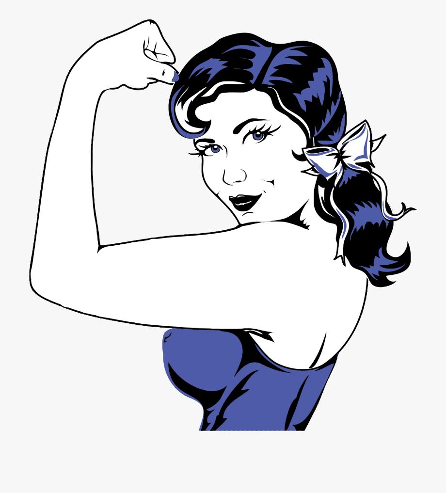 Clip Art Muscular Arm Clipart.