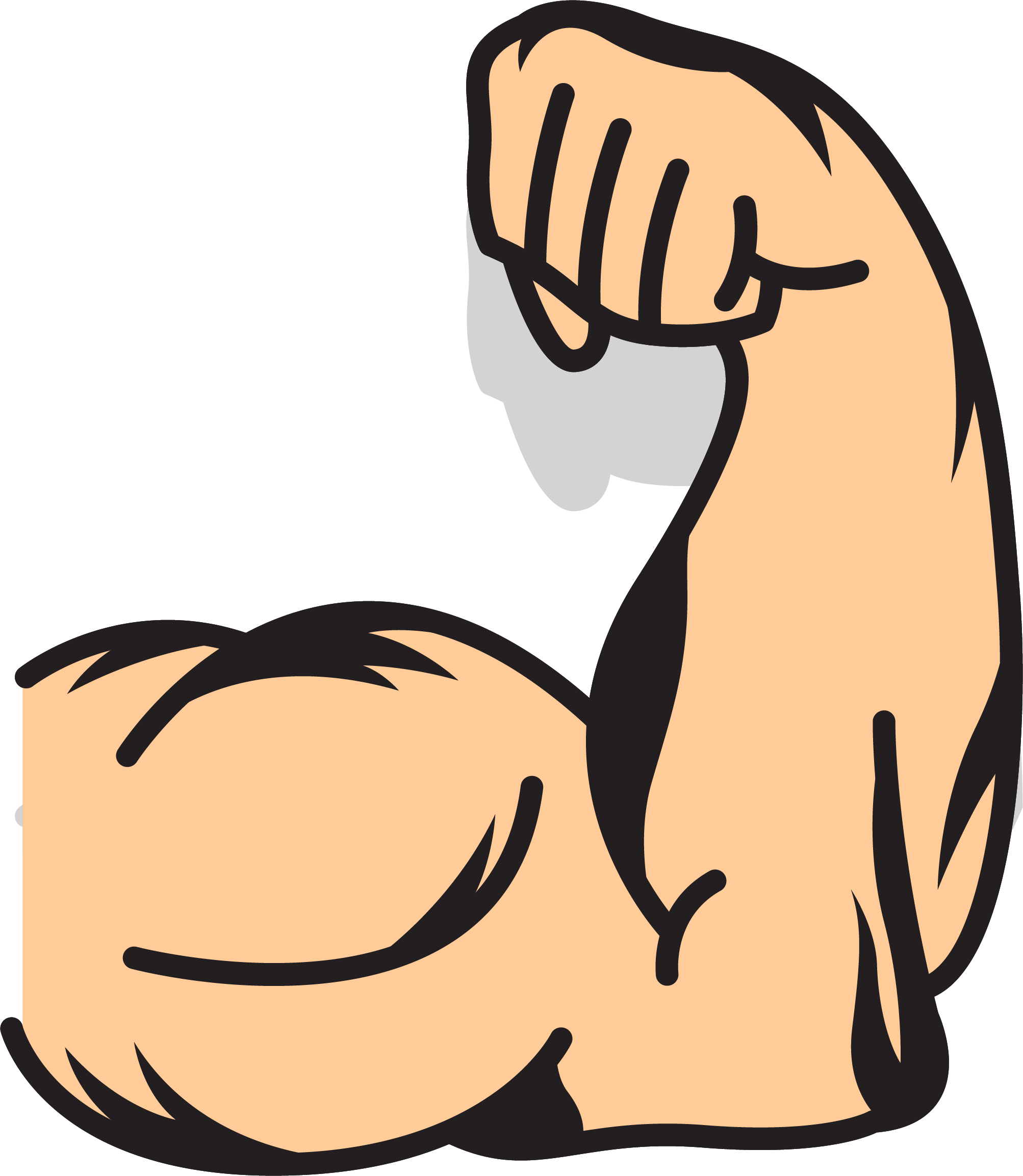 Download Muscles Clipart Muscled Arm And Use For You.