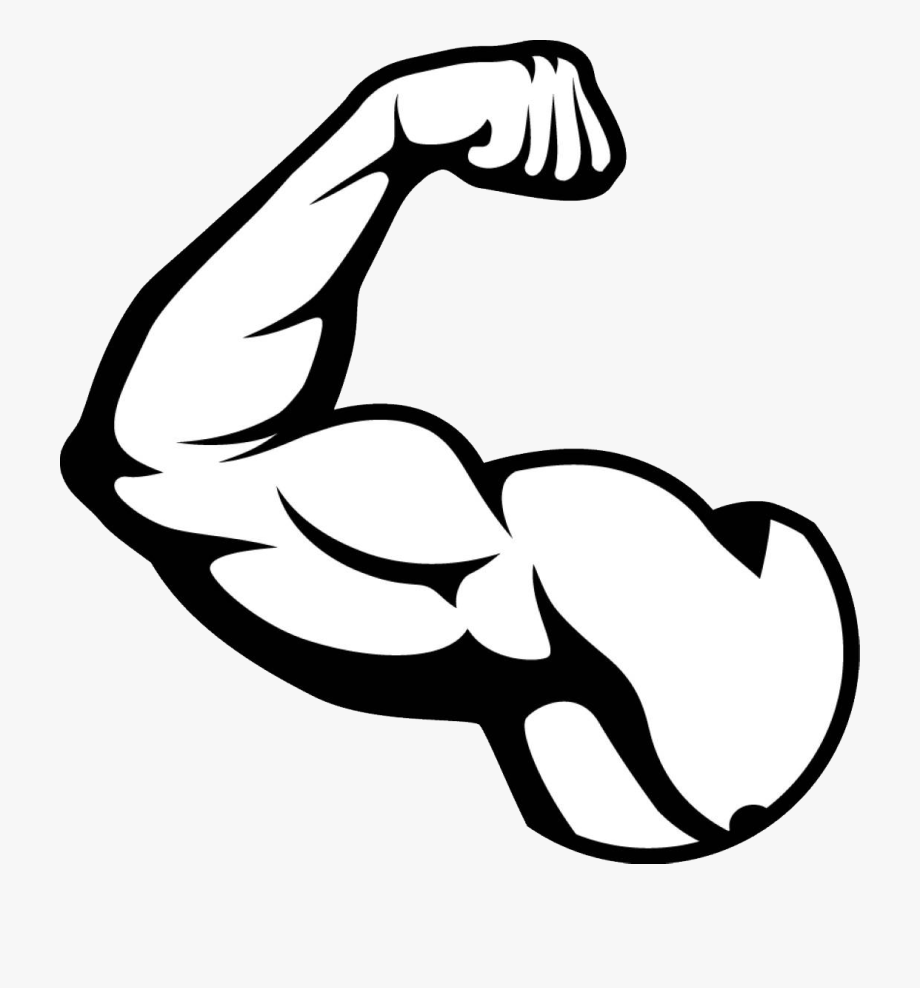 Muscle Arm Png Picture.