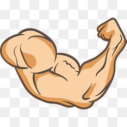 A Powerful Arm, Strong, Arm, Muscle PNG #2184.
