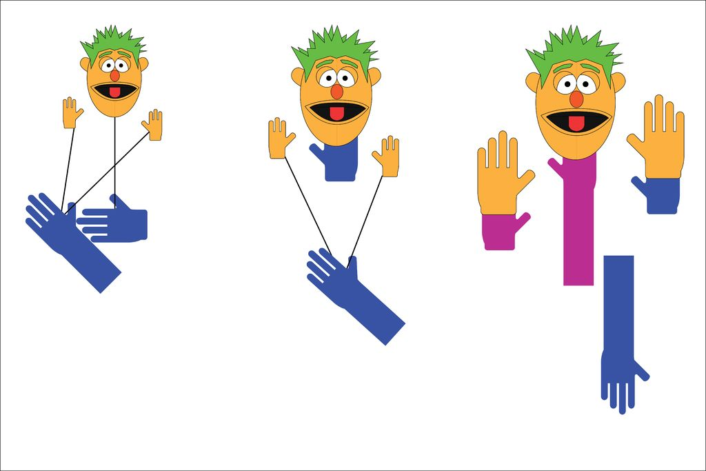 DIY Muppet Puppet: 8 Steps (with Pictures).