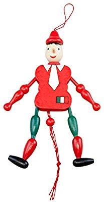 Amazon.com: Polish Souvenirs Wooden Pinocchio Puppet Toy.