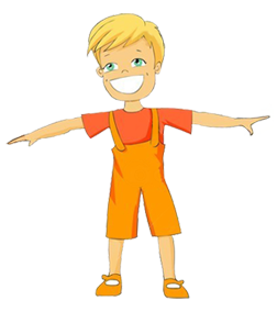 Arms Stretched Out Clipart.