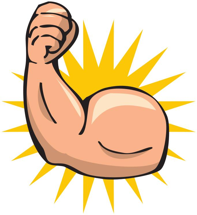 Strong Arm Clipart.
