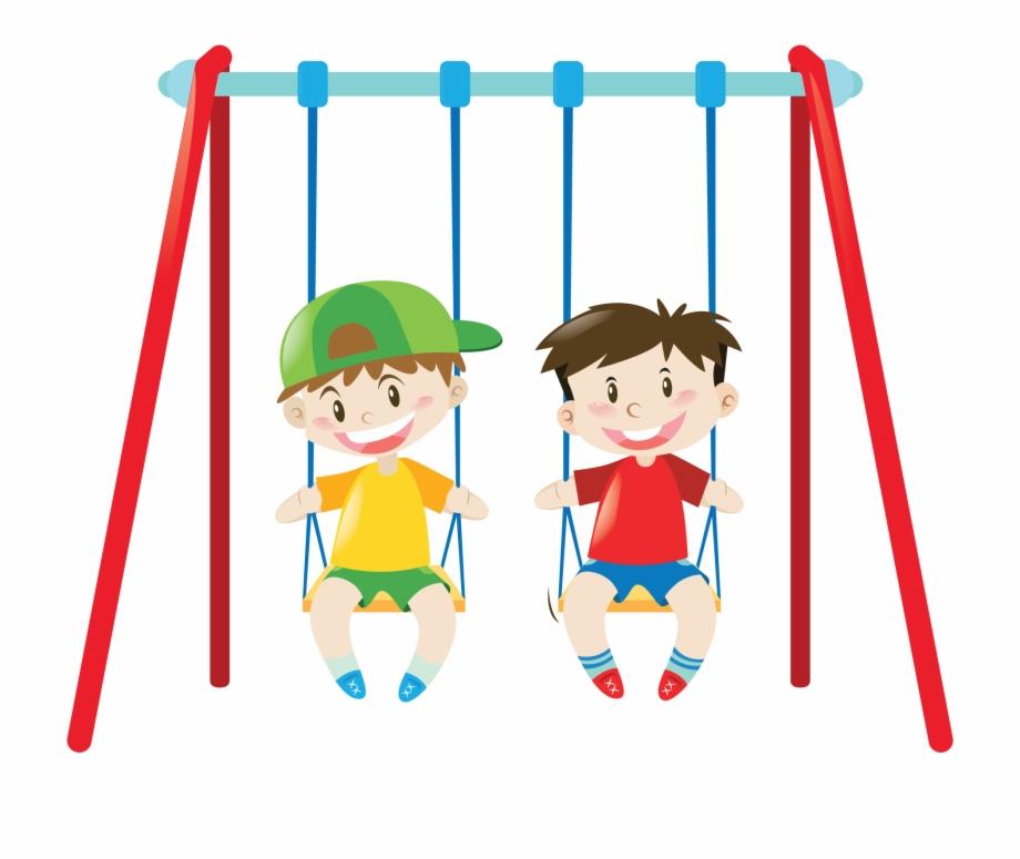 Clipart Park Swing Set.