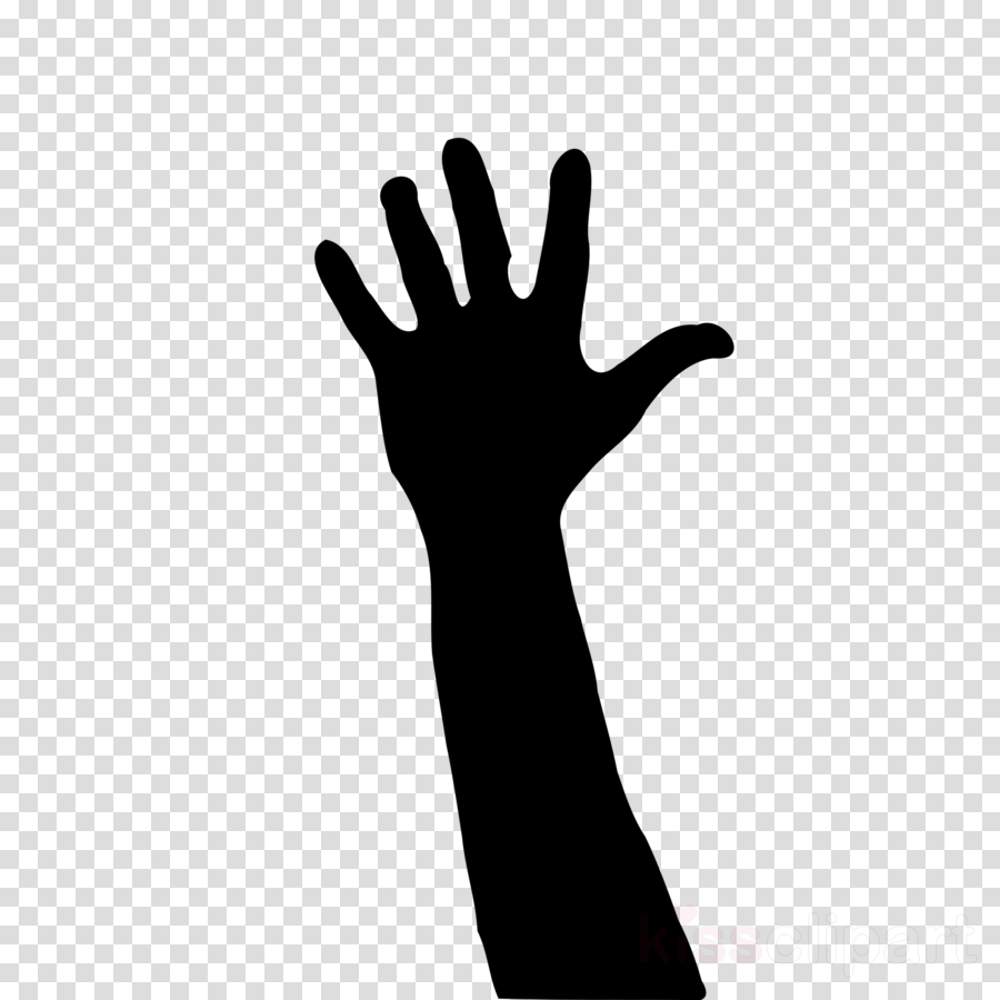 finger hand arm gesture glove clipart.