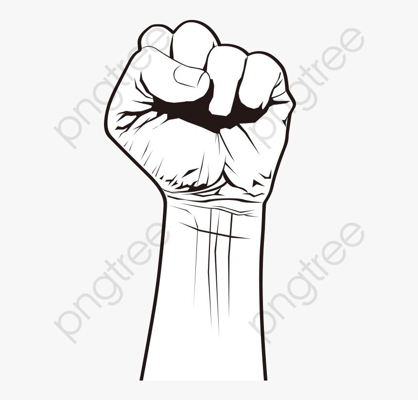 Transparent Fist Clipart.