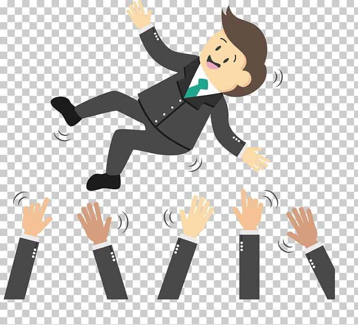 Businessperson, The man on the arm PNG clipart.