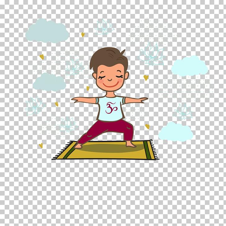 Rishikesh International Yoga Day, yoga workout, boy standing.