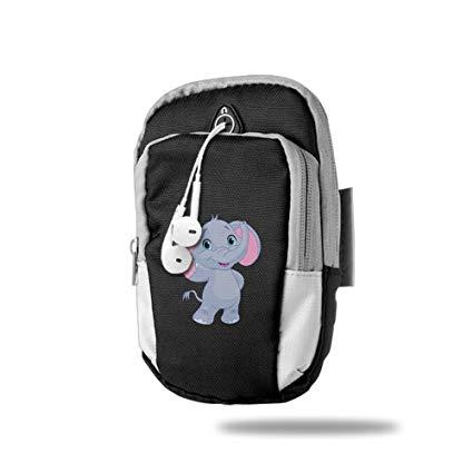 Amazon.com: Cute Elephant Clipart Image Sports Arm Bag/Arm.