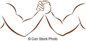 Arm wrestling Vector Clipart EPS Images. 270 Arm wrestling clip.