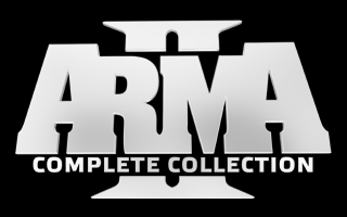 File:ARMA 2 Complete Collection logo (Black).png.
