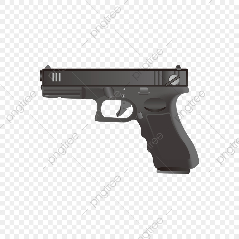 Weapons And Firearms, Weapon Weapon, Pistol PNG Transparent Image.