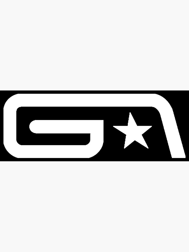Groove Armada White Logo.
