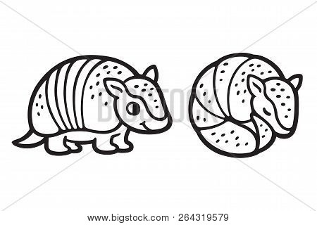 Armadillo Clipart Black And White (92+ images in Collection) Page 2.