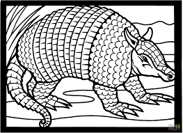 Image result for armadillo black and white clipart.