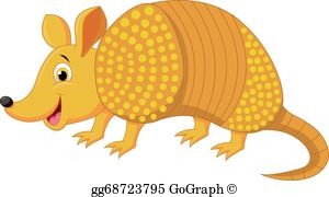 A Is For Armadillo Clip Art.