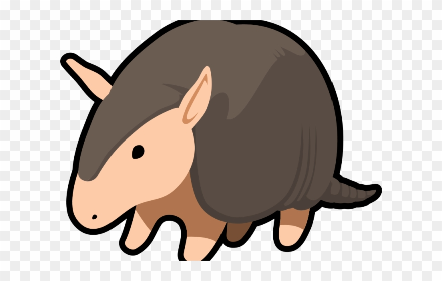 Armadillo Clipart Cute.