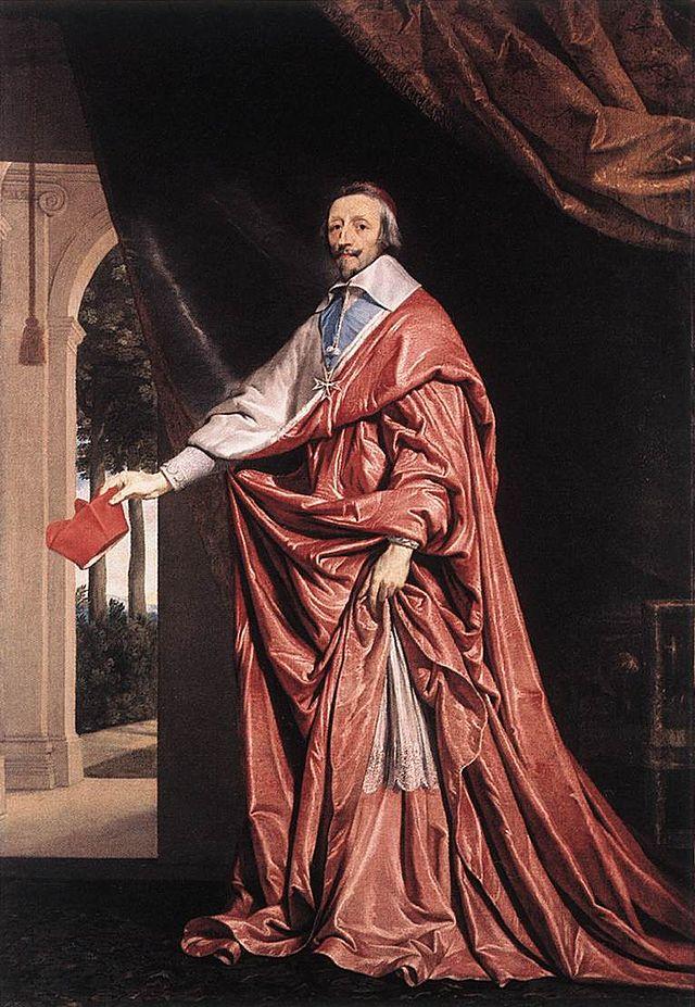 Armand Jean du Plessis de Richelieu.