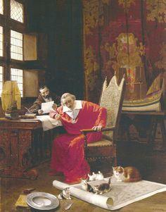 Armand Jean du Plessis, Cardinal.