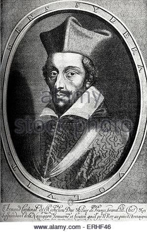 Portrait Of Cardinal Richelieu (1585.